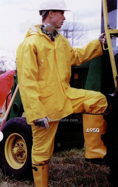 Yellow Waist Overall Rain Gear (3xl-6xl)