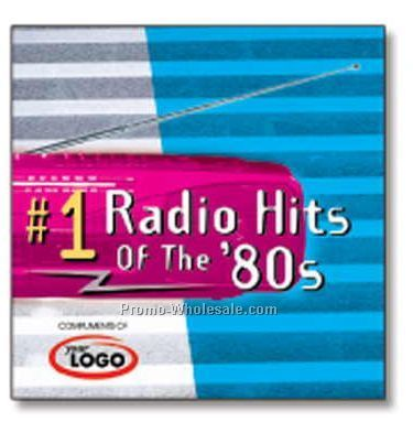 #1 Radio Hits Of The 80's Compact Disc In Jewel Case/ 9 Songs