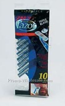 10 Piece Disposable Razor