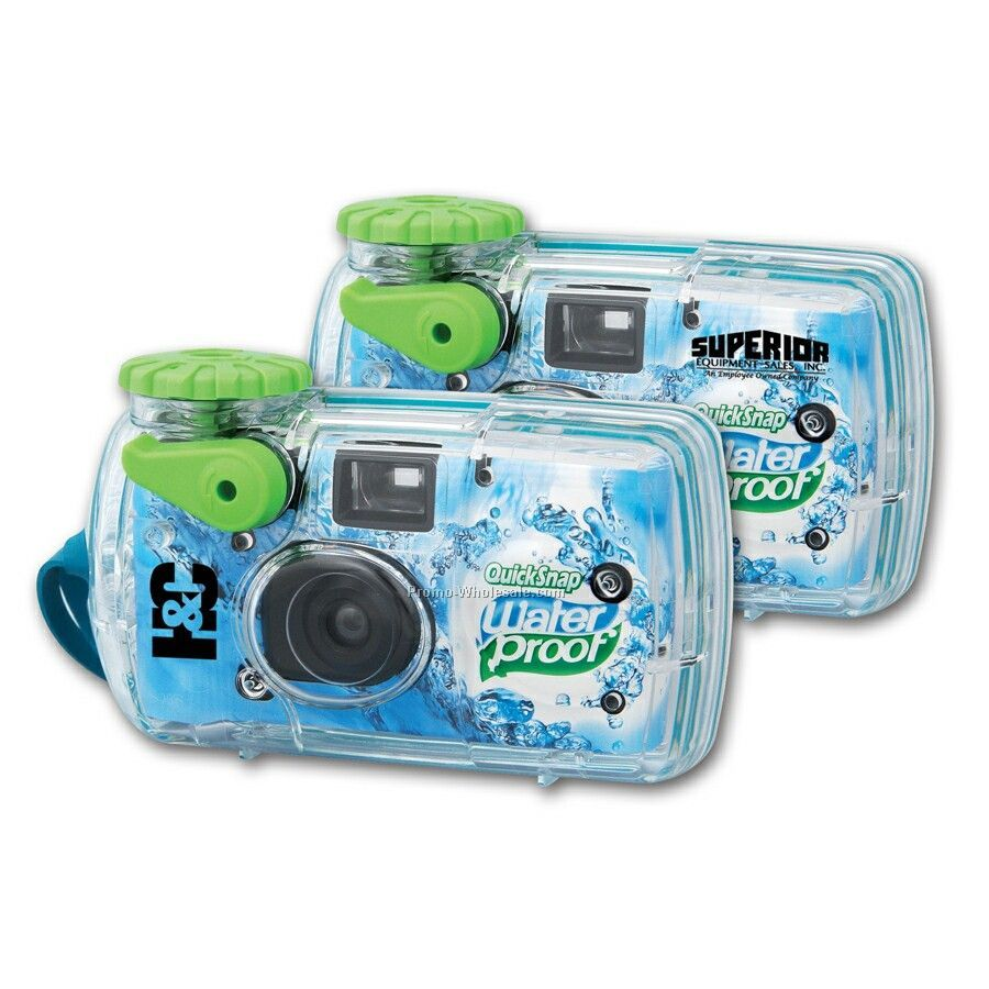 27 Exposure - Logo Waterproof Camera