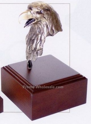 "5-1/2"" Taking Care Of Business Eagle Sculpture"
