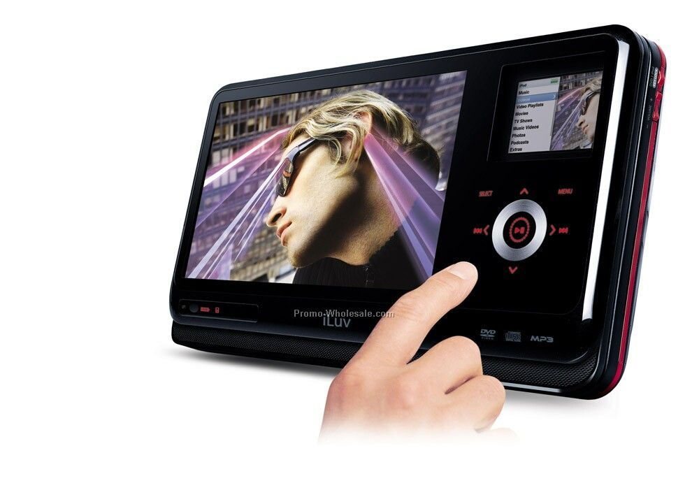 "8.4"" Tft Lcd Portable DVD & Ipod Video Player"