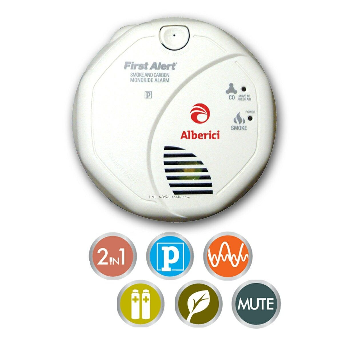 Battery Powered Combo Smoke & Co Alarm