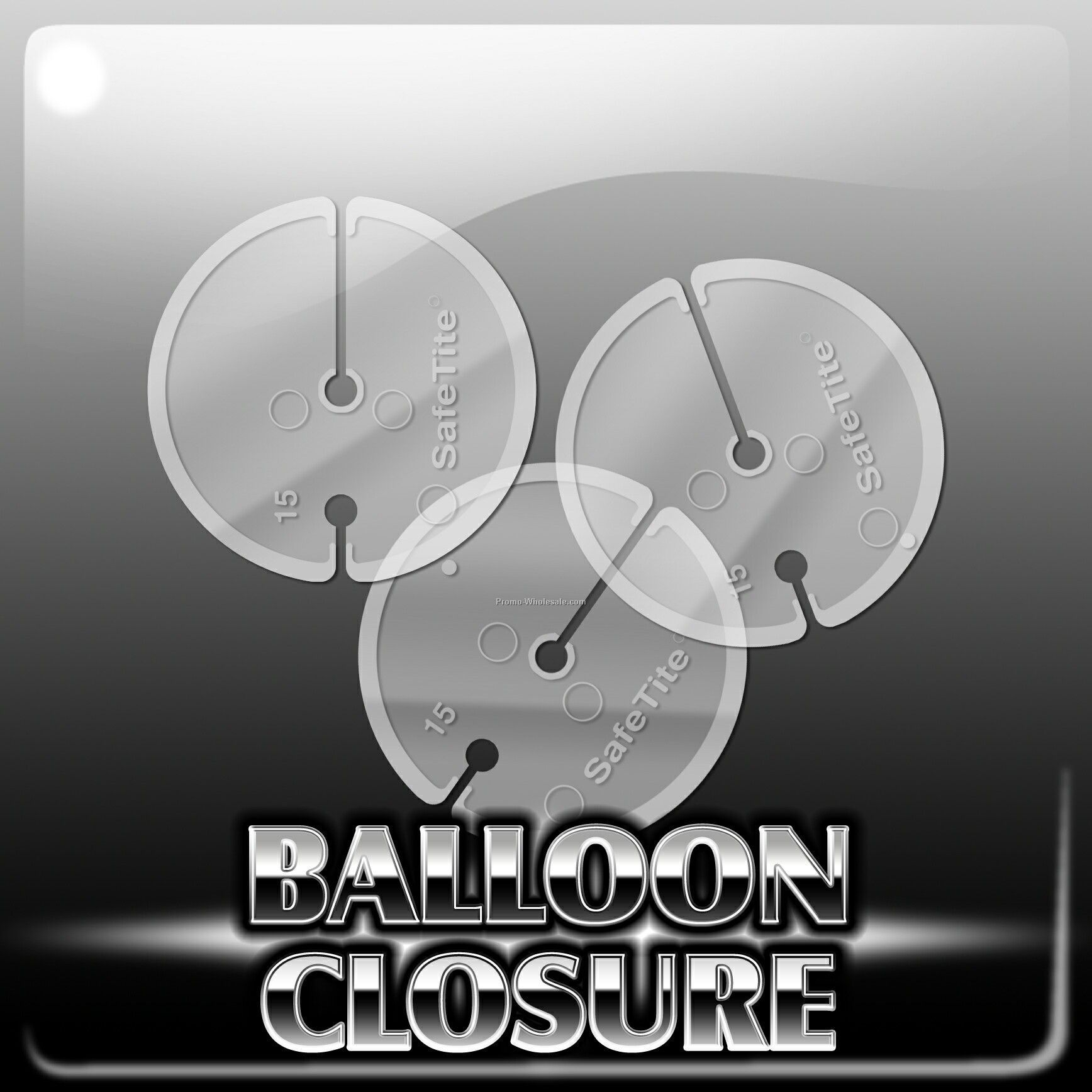 Child Safe Balloon Closure Disc