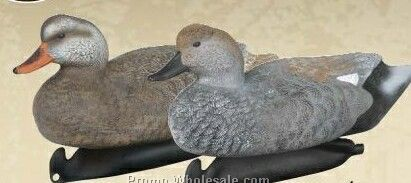 Classic Gadwall Duck Decoy W/ Weighted Keel