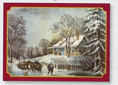 Currier & Ives Greeting Card Calendar (Thru 6/1/09)
