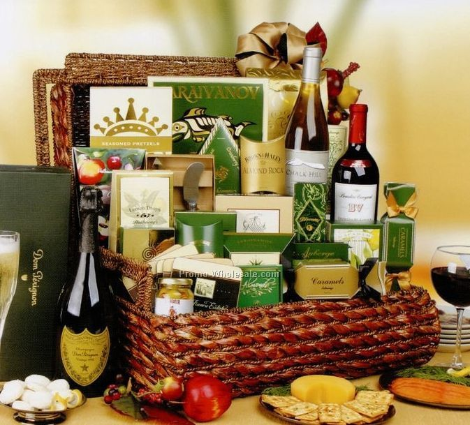 Gifts Of Distinction - The Park Avenue (Champaigne, Wine, Appetizers)