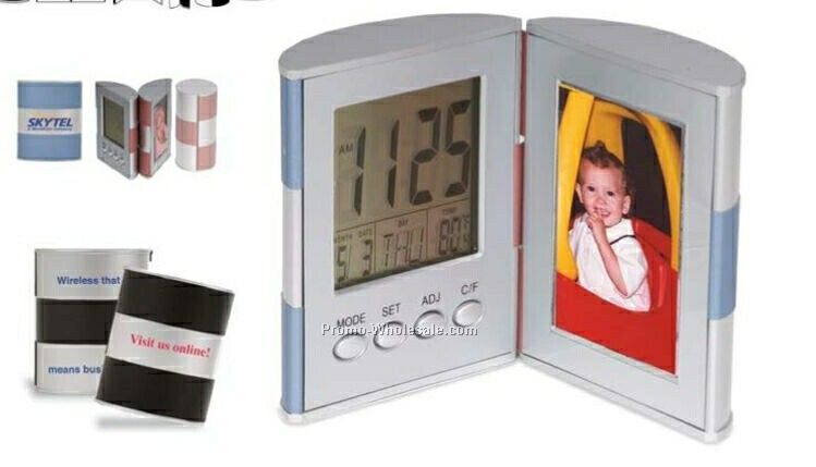 Illusion Series Clock/Photo Frame/Thermometer