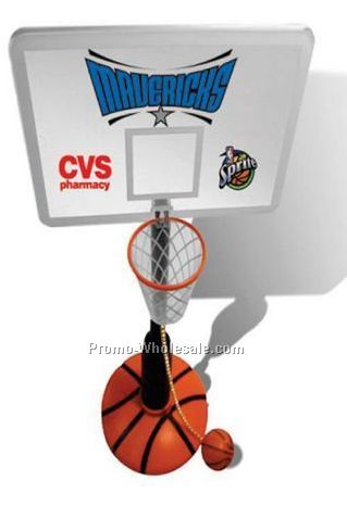 "It's A New ""slam Dunk"" Promo Basketball / Desktop Item!"