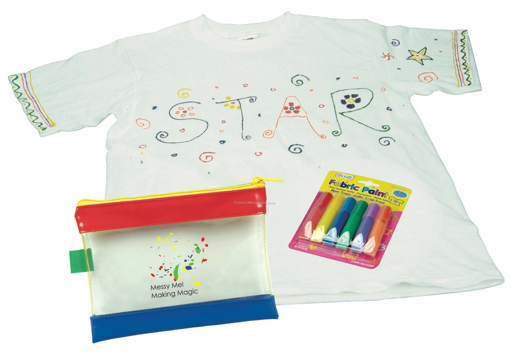 Kid's T-shirt Fabric Paint Set