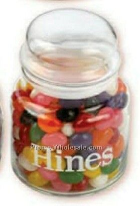 Large Apothecary Jar W/ Tootsie Rolls