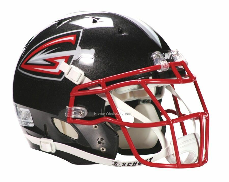 Licensed Dna Mini Football Helmet (Ncaa) 1/2 Scale