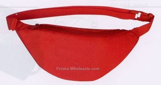 Nylon 1-pocket Fanny Pack (Blank)