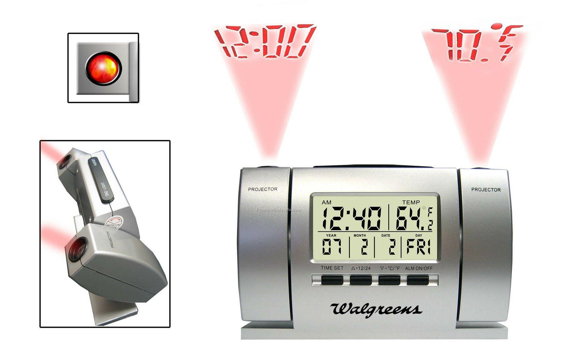 Projector Clock Calendar (Radio Controlled)