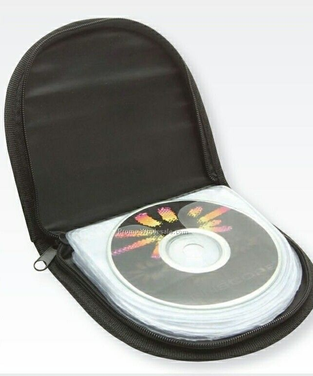 Semi Circle CD Case (Pad Print)