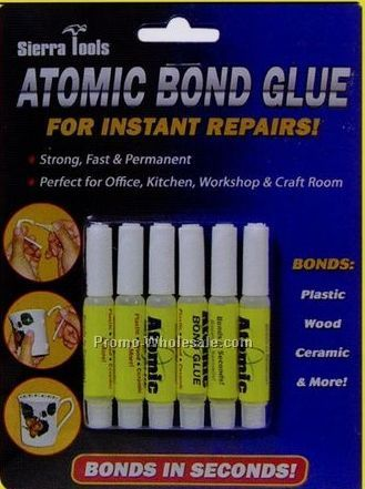 Sierra Tools Set Of 6 Atomic Bond Glue