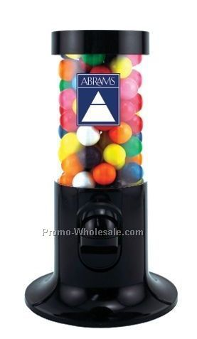 Tube Candy Dispenser W/ Gumballs (2 Day Service)