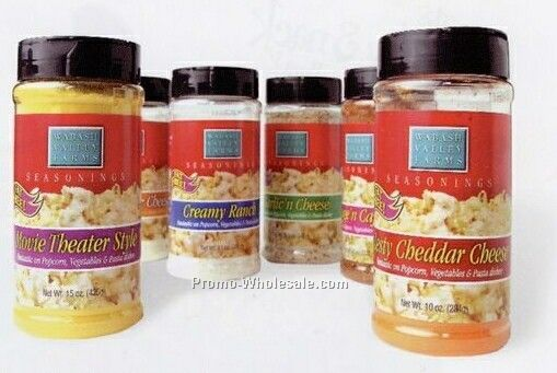 Wabash Valley Farms Popcorn Seasonings. (Garlic N Cheese)