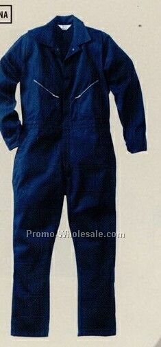 Walls 100% Cotton Coveralls (34-66) - Navy Blue