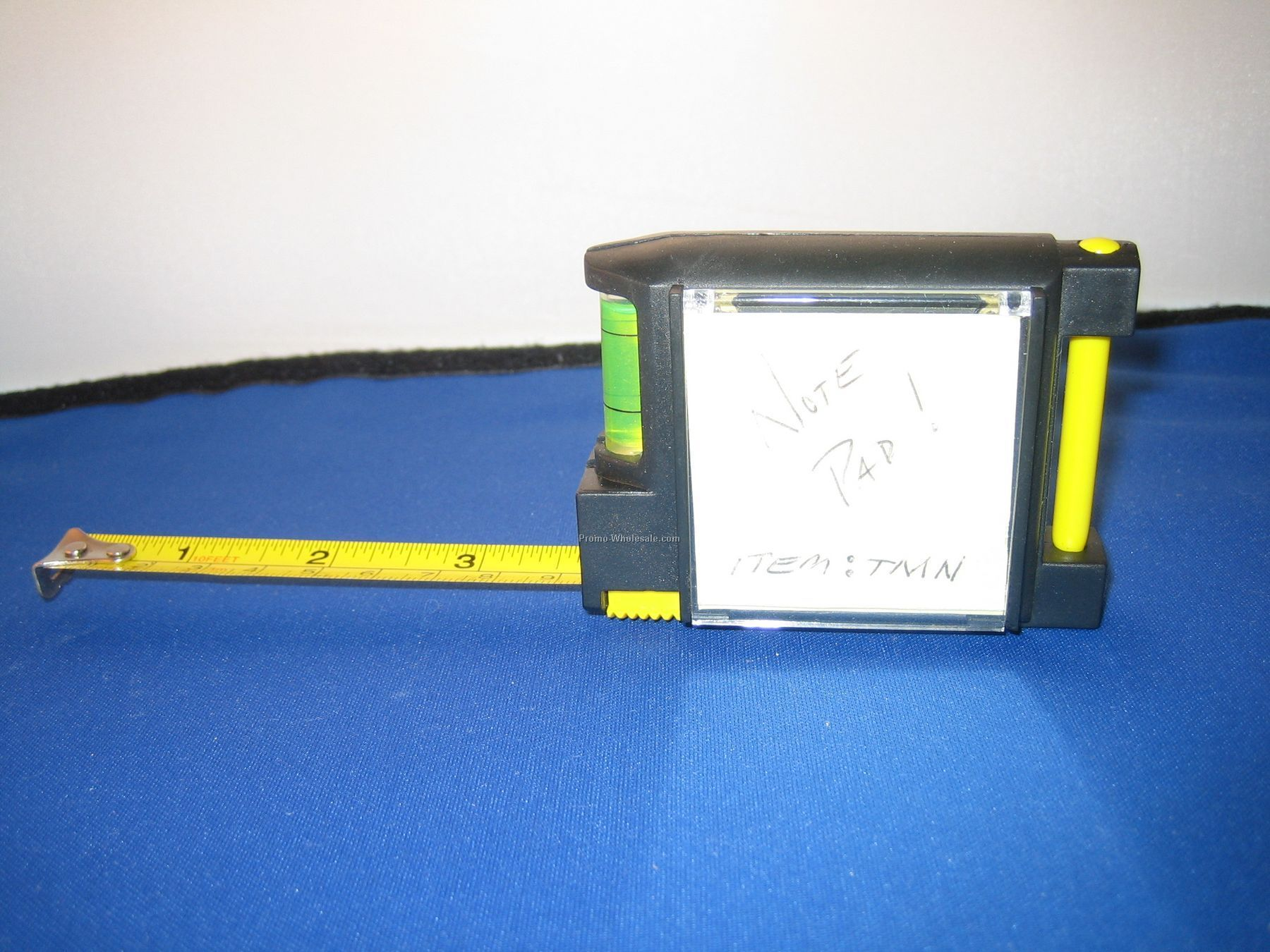 10' Tape Measure / Level With Notepad & Pen