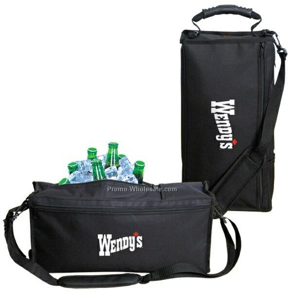 "16-1/2""x7-1/2""x4-1/2"" Golf 6 Can Cooler Bag (Imprinted)"