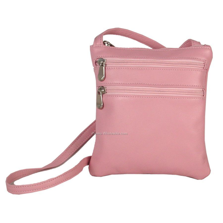 3 Zip Cross Body Bag