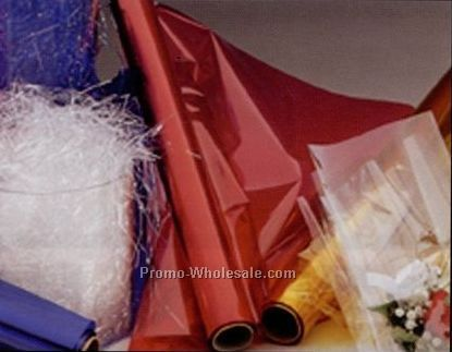 "40""x100' Clear Cellophane Rolls"