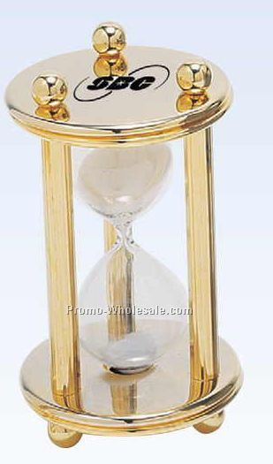5-minute Metal Sand Timer (Screened)