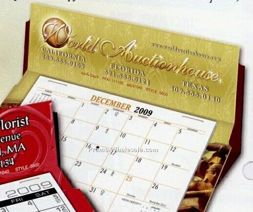 5600 Rite-a-date Desk Calendar (Red Trim) - Before June 1