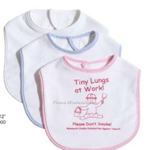 Baby Bibs - (Embroidered)