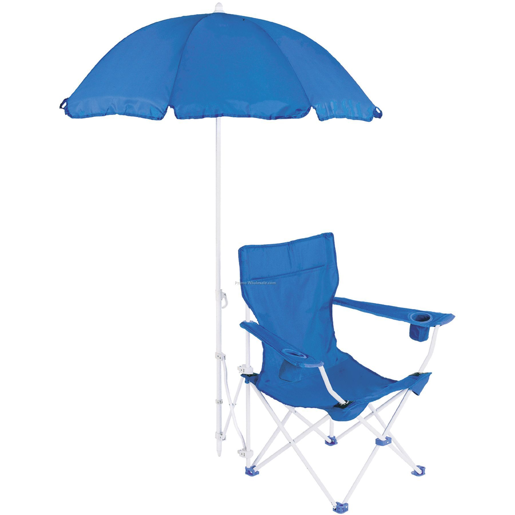 Captain`s Chair W/ Beach Umbrella, Direct Import Orders Only