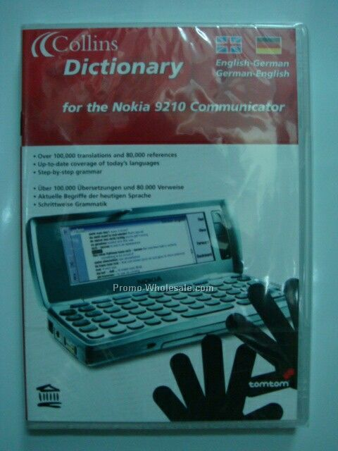Collins Dictionary For The Nokia 9210 Communicator