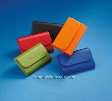 Colorplay Leather Hardcase Card Holder