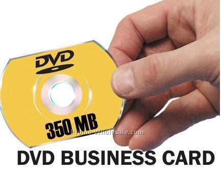 DVD Business Card With 4 Color Process Imprint (350 Mb)