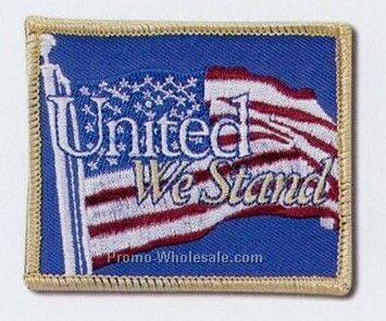 "Embroidered Patches With 75% Coverage (2-1/2"")"