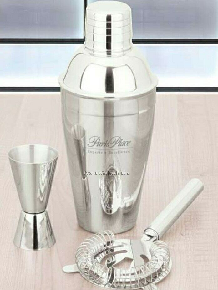 Essentials Miscela III 3 Piece Martini Set