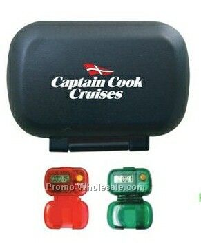 Fitness Pedometer With Lid