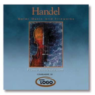 Handel Water Music & Fireworks Classical Music Compact Disc (15 Songs)