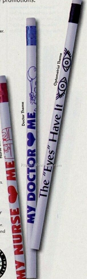 Heart Theme #2 White Pencil (2 Color)