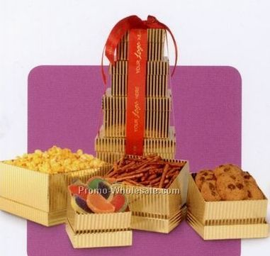 Holiday Office Tower Gift Boxes