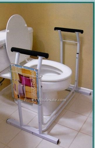 Ideaworks Deluxe Toilet Safety Support