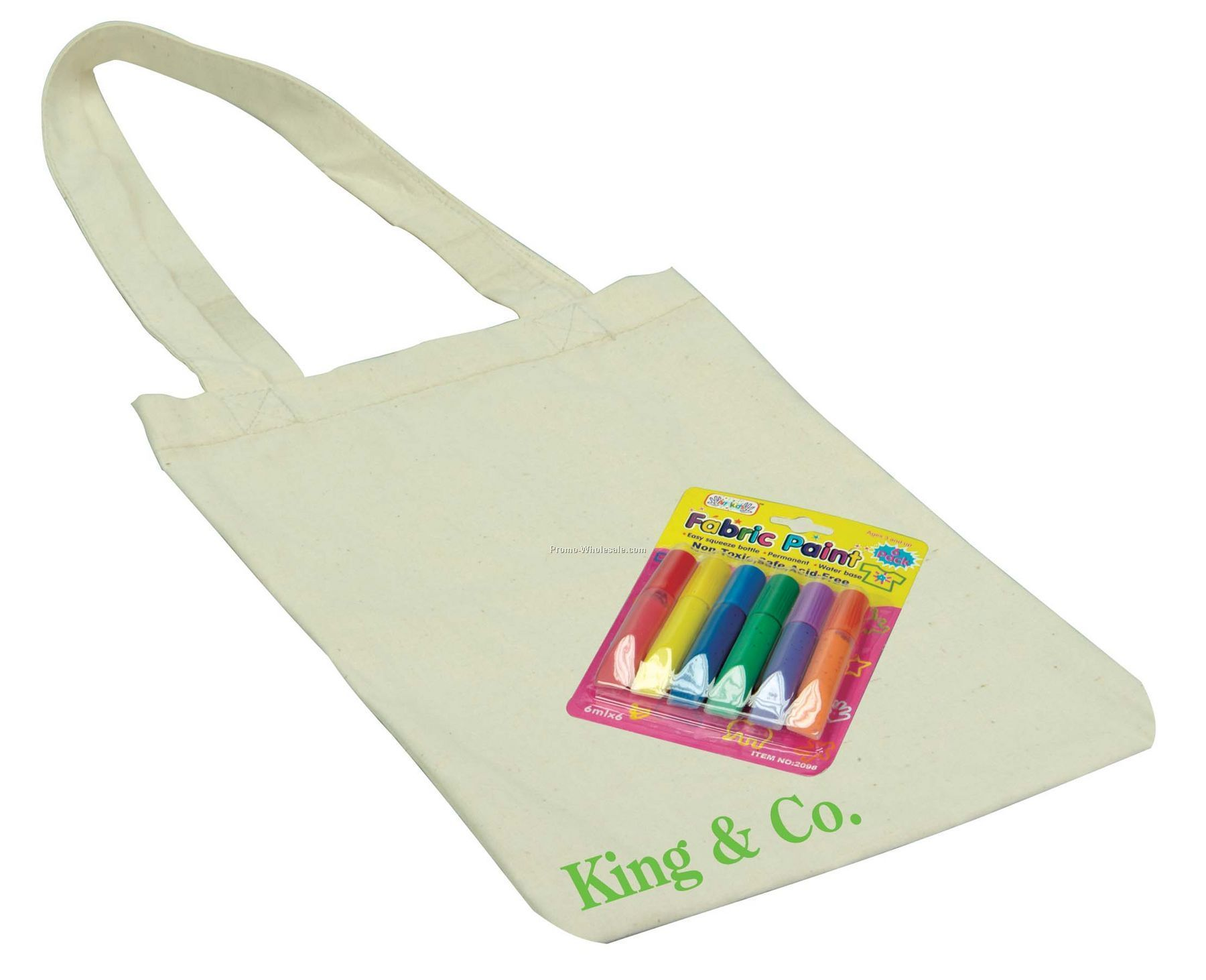 Kid's Tote Fabric Paint Set