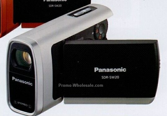 Panasonic Silver Water Shock & Dustproof Compact Sd Camcorder