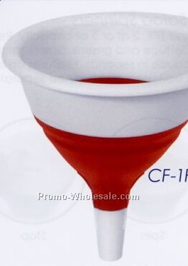 Red Collapsible Funnel