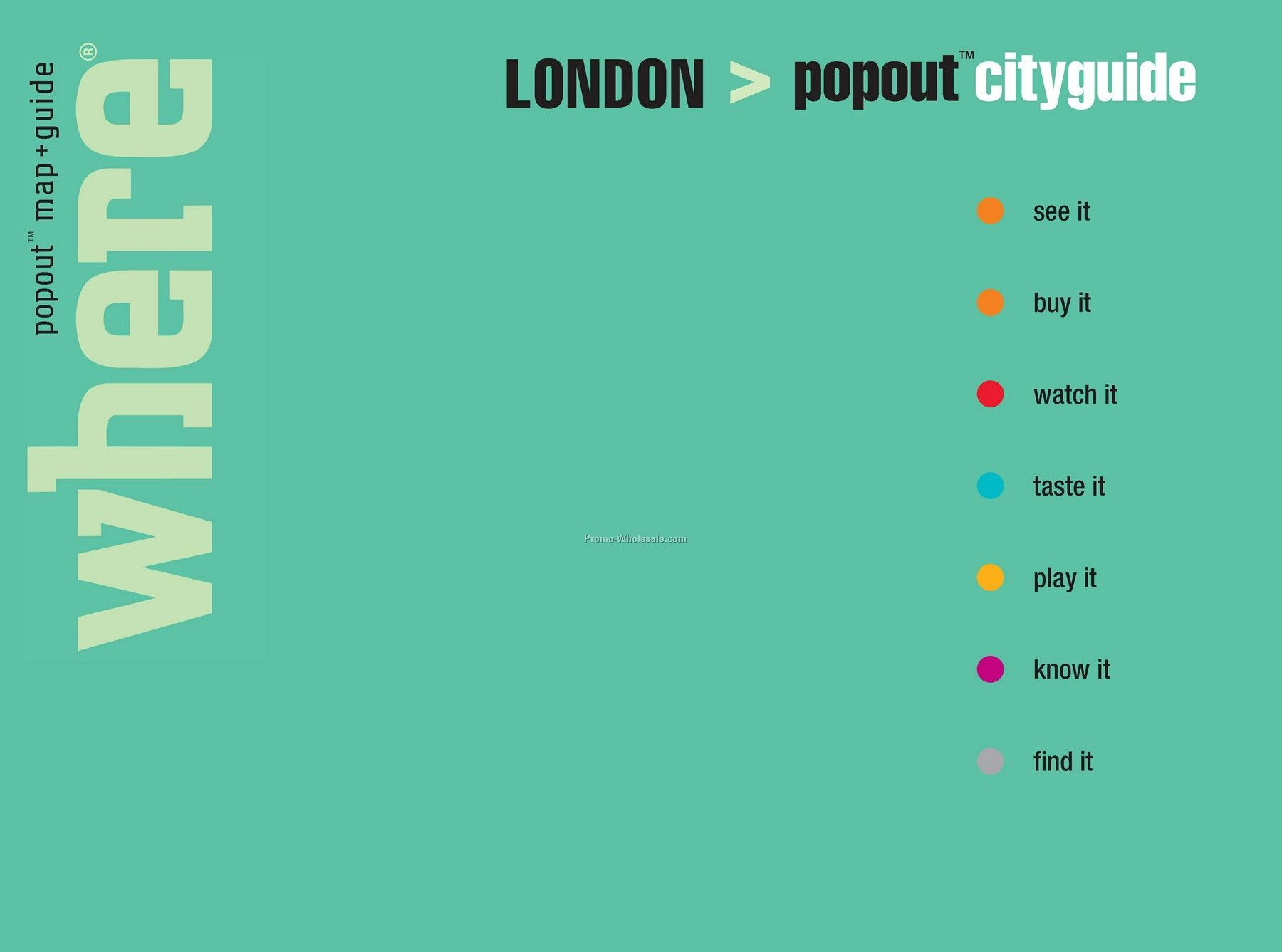 Restaurant Guides - Featuring Popout Maps - City Guide London