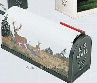 Scenic Decor Series Mailboxes - Buck & Doe Deer (Blank)