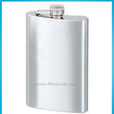 Stainless Steel Flask (8oz) - Laser Engraved