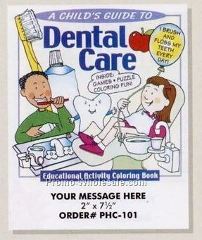 stock design health theme coloring book dental care 8 12 - Wholesale Coloring Books 2