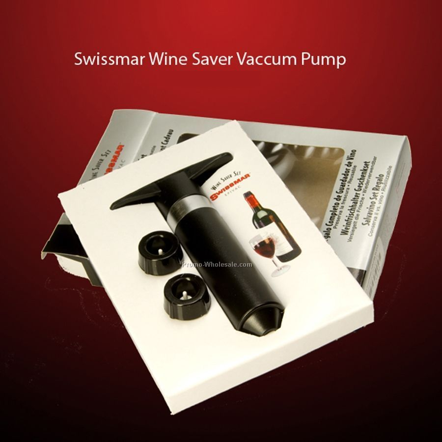 Swissmar Wine Saver Vacuum Pump