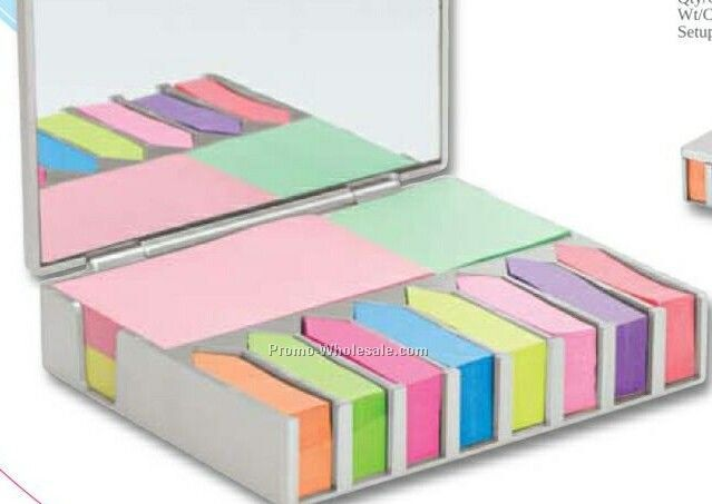 "Valumark Sticky Note & Desk Set 4-3/4""x4""x1-1/8"""